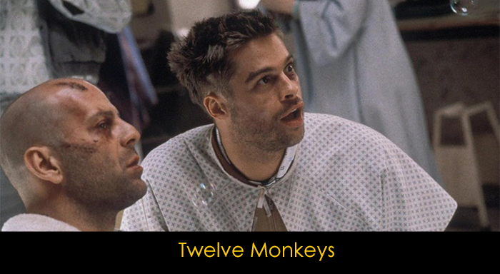 Brad Pitt filmleri - Twelve Monkeys