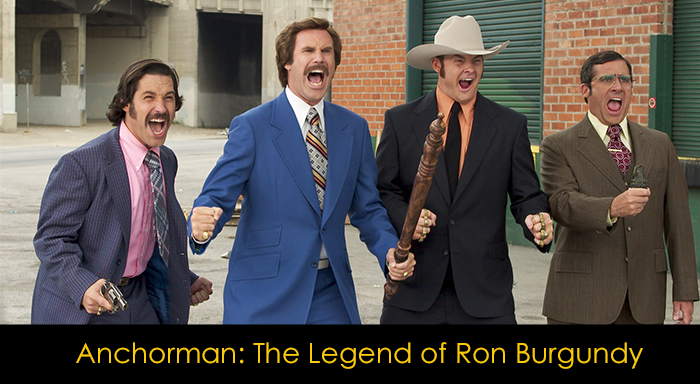 En İyi Komedi Filmleri - Anchorman: The Legend of Ron Burgundy