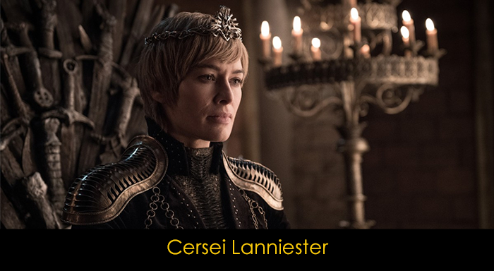 Game of Thrones Oyuncuları - Cersei Lannister