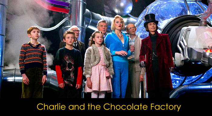 En İyi Aile Filmleri - Charlie and the Chocolate Factory