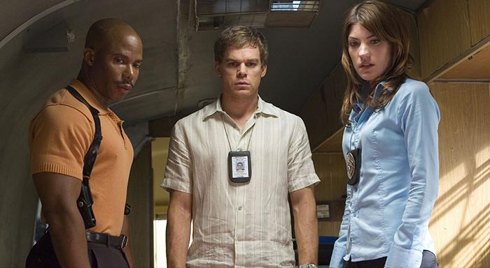 Dexter - Dexter ve Debra Morgan