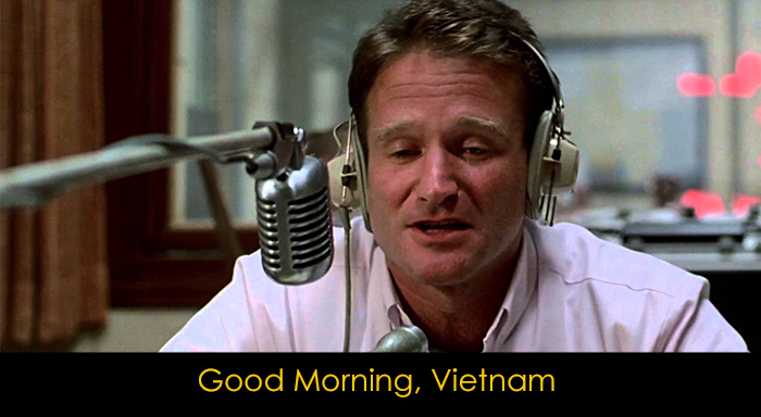 En İyi Robin Williams Filmleri - Good Morning Vietnam