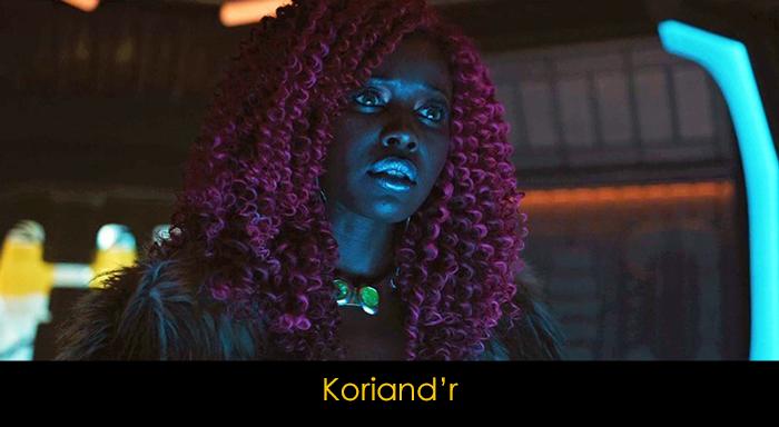 Titans Dizisi Oyuncuları - Koriand'r
