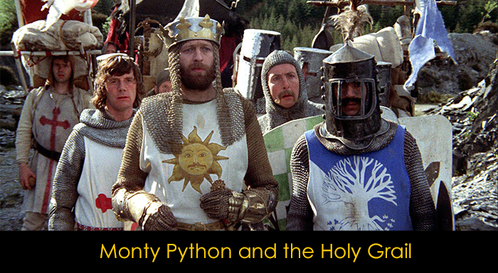 En İyi Komedi Filmleri - Monty Python and the Holy Grail