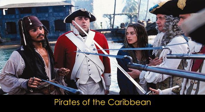 En İyi Aksiyon Filmleri - Karayip Korsanları
