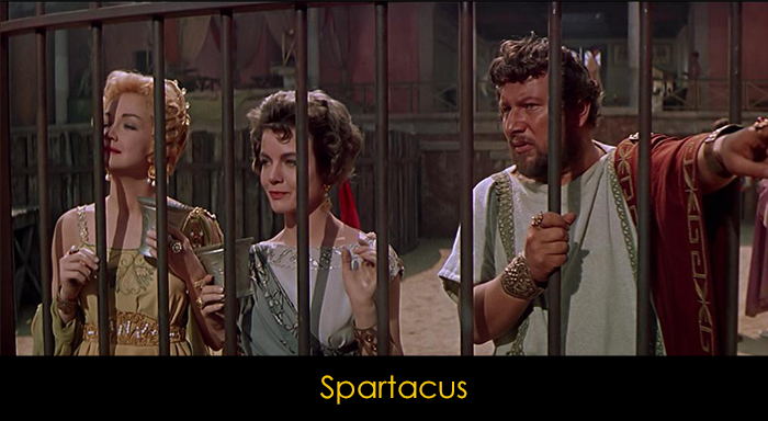 En İyi Macera Filmleri - Spartacus