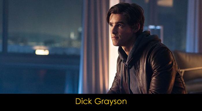 Titans Dizisi Oyuncuları - Dick Grayson