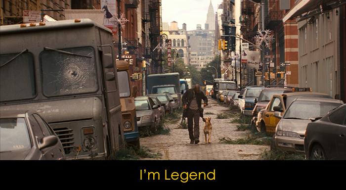 Yalnızlık Temalı Filmler - I'm Legend