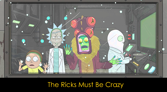 En İyi Rick and Morty Bölümleri - The Ricks Must Be Crazy