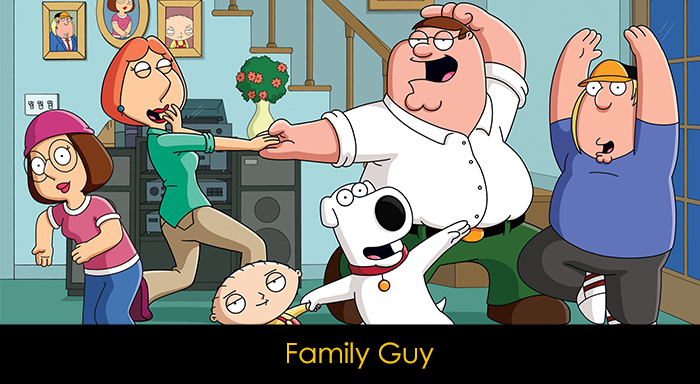 En İyi Komedi Dizileri - Family Guy
