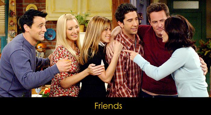En İyi Komedi Dizileri - Friends