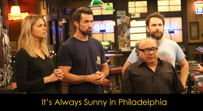 En İyi Komedi Dizileri - It's Always Sunny in Philadelphia