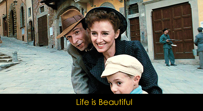Soundtrack'leriyle Özdeşleşen Filmler - Life is Beautiful