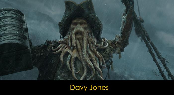 Sinemanın Kötü Adamları - Davy Jones