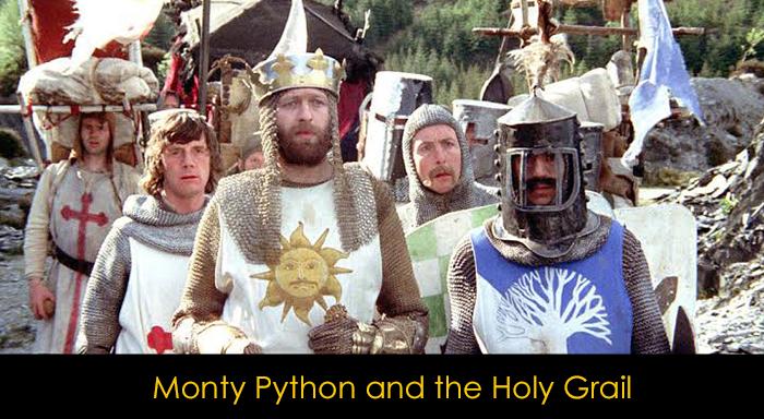 Netflix'teki En İyi Komedi Filmleri - Monty Python and the Holy Grail