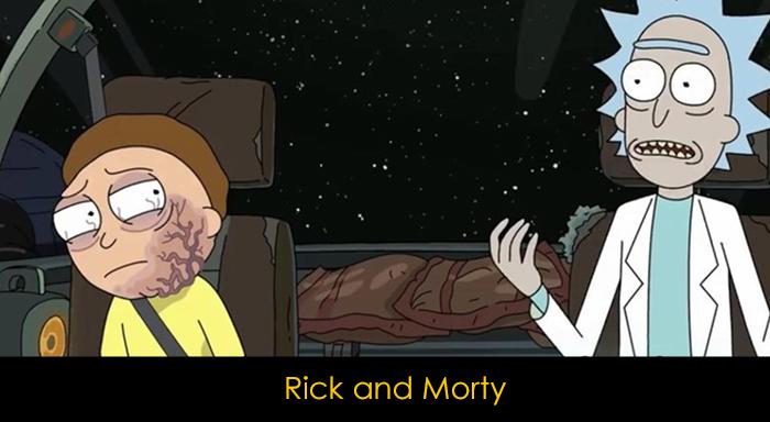 Netflix Bilim Kurgu Dizileri - Rick and Morty