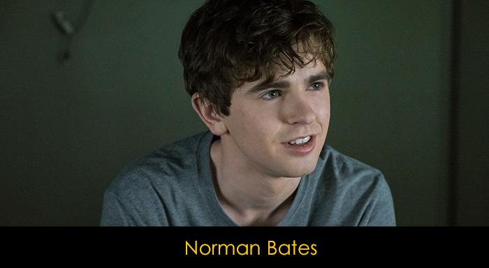 Bates Motel Dizisi Oyuncuları - Norman Bates