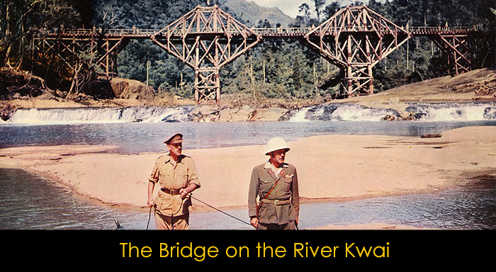 2. Dünya Savaşı Filmleri - The Bridge on the River Kwai