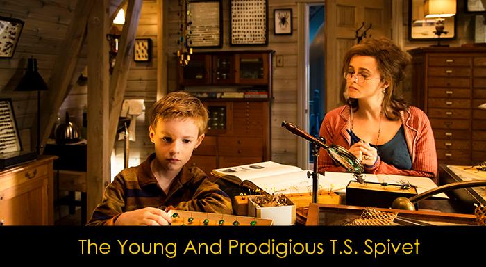 Helena Bonham Carter Filmleri - Young and Prodigious T.S. Spivet