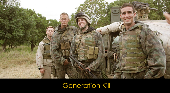 En İyi Mini Diziler - Generation Kill