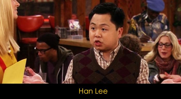 2 Broke Girls Dizisi Oyuncuları - Han Lee