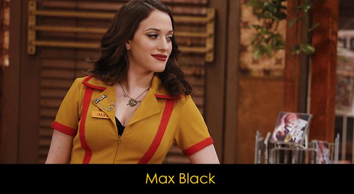 2 Broke Girls Dizisi Oyuncuları - Max Black