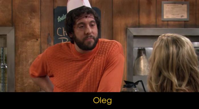 2 Broke Girls Dizisi Oyuncuları - Oleg