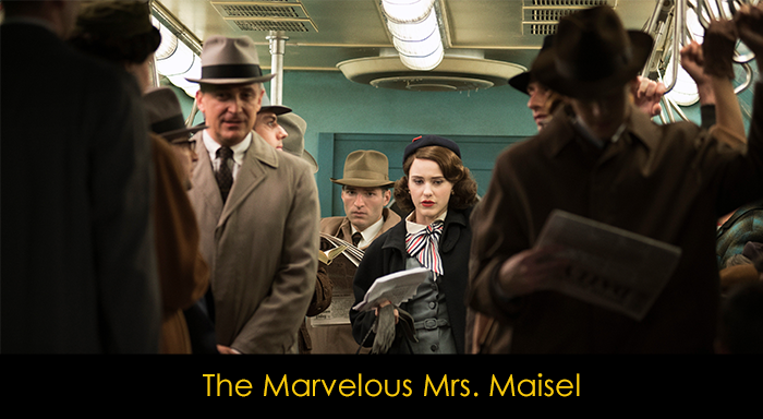 Amazon Prime Dizileri - The Marvelous Mrs. Maisel
