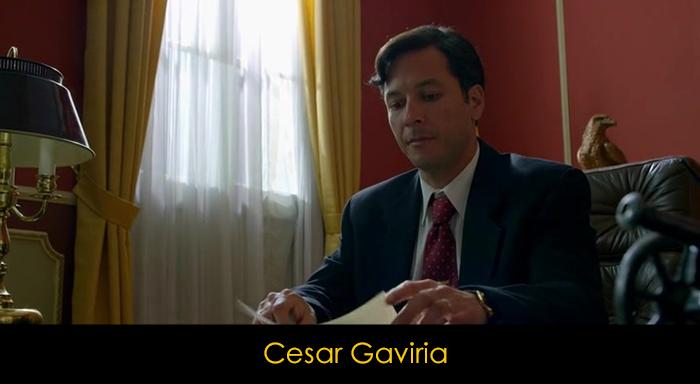 Narcos Dizisi Oyuncuları - Cesar Gaviria