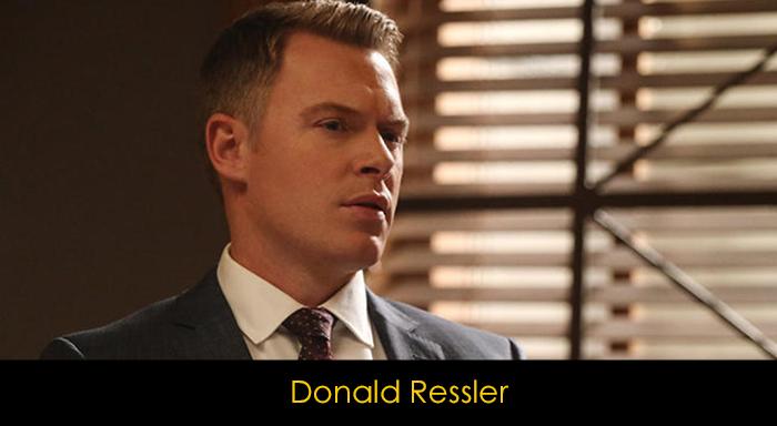 The Blacklist Dizisi Oyuncuları - Donald Ressler