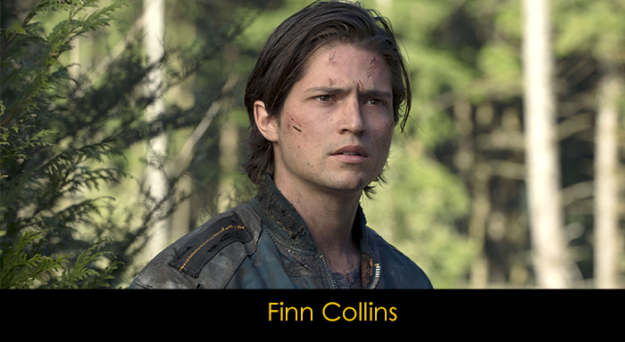 The 100 Dizisi Oyuncuları - Finn Collins