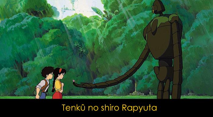 Hayao Miyazaki Filmleri - Gökteki Kale
