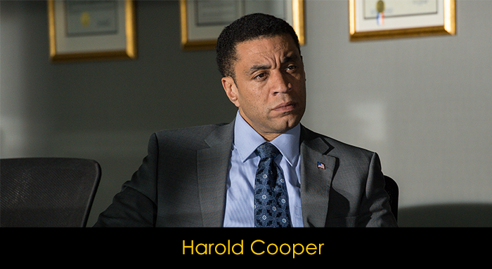 The Blacklist Dizisi Oyuncuları - Harold Cooper