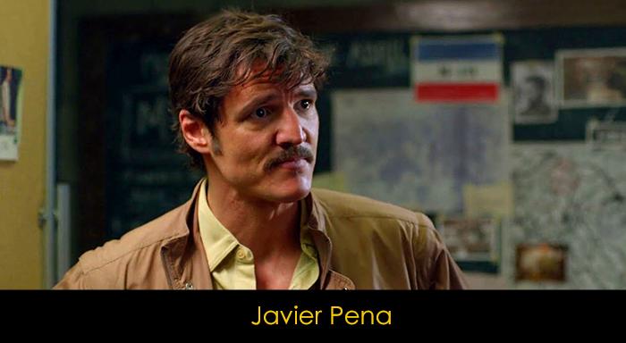 Narcos Dizisi Oyuncuları - Javier Pena