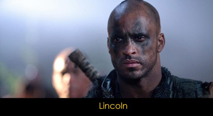 The 100 Dizisi Oyuncuları - Lincoln