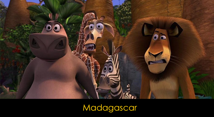 En İyi Animasyon Filmleri - ShrekEn İyi Animasyon Filmleri - Madagascar
