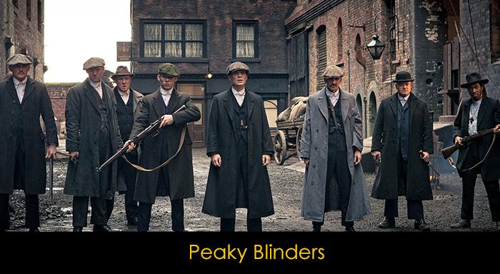 En İyi Netflix Dizileri - Peaky Blinders