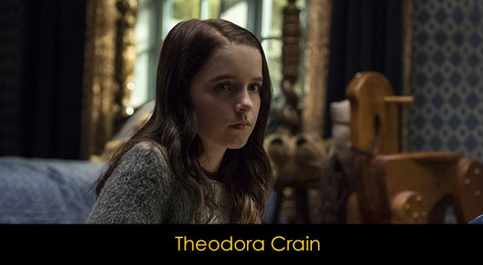 The Haunting of Hill House Dizisi Oyuncuları - Theodora Crain